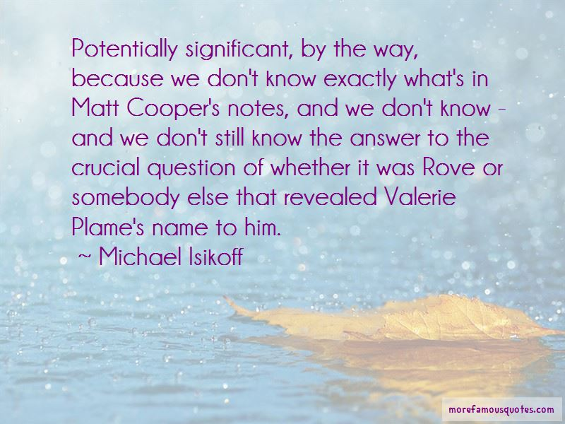 Michael Isikoff Quotes Pictures 4