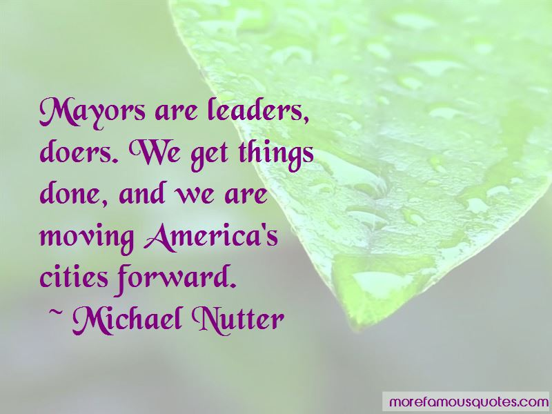 Michael Nutter Quotes Pictures 2