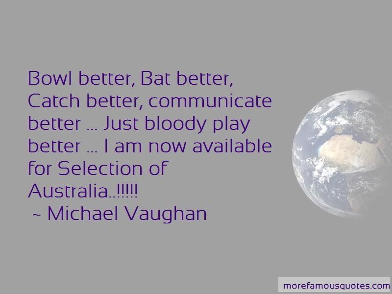 Michael Vaughan Quotes Pictures 3