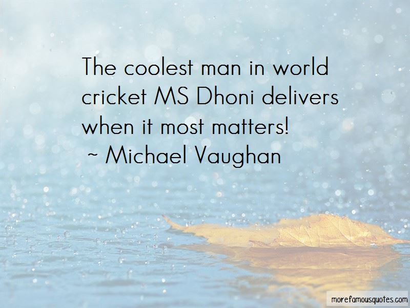 Michael Vaughan Quotes Pictures 4