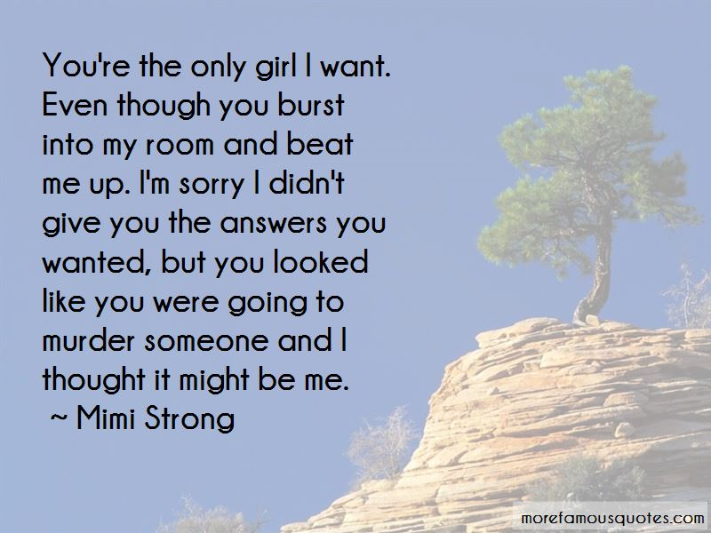 Mimi Strong Quotes Pictures 2