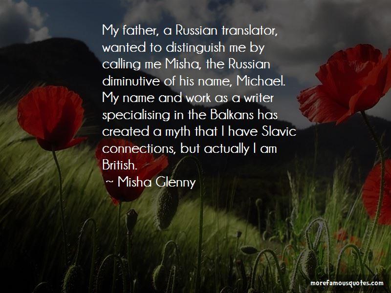 Misha Glenny Quotes