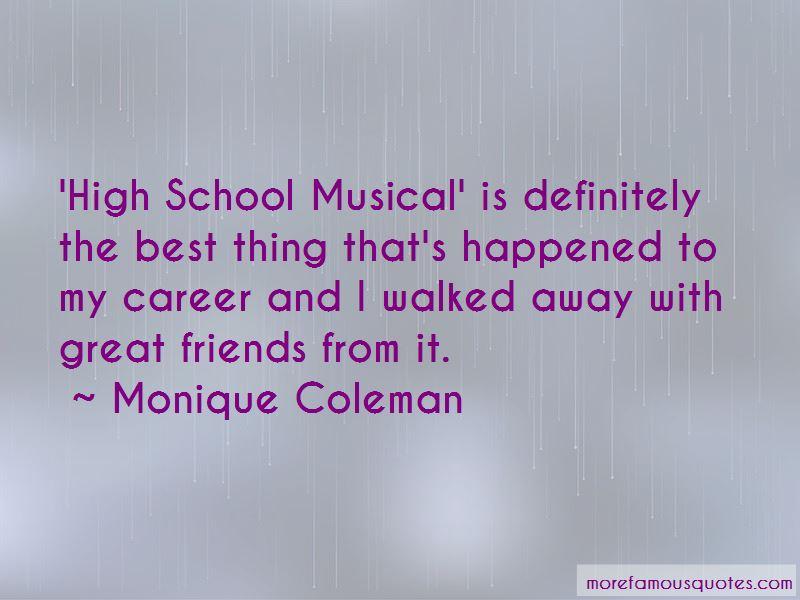 Monique Coleman Quotes Pictures 2
