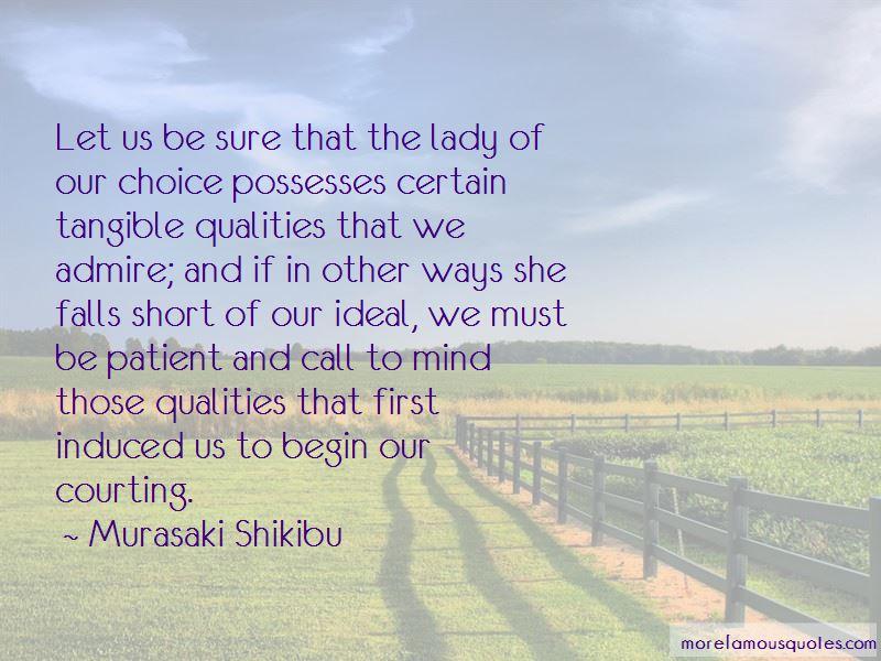 Murasaki Shikibu Quotes