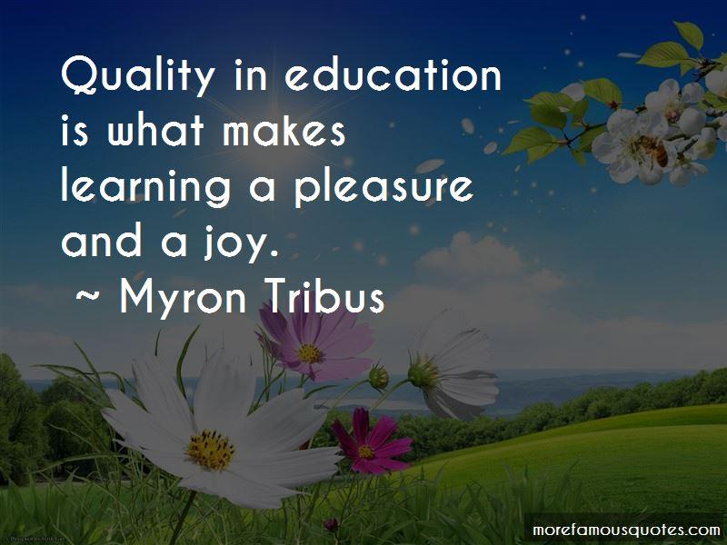 Myron Tribus Quotes Pictures 4