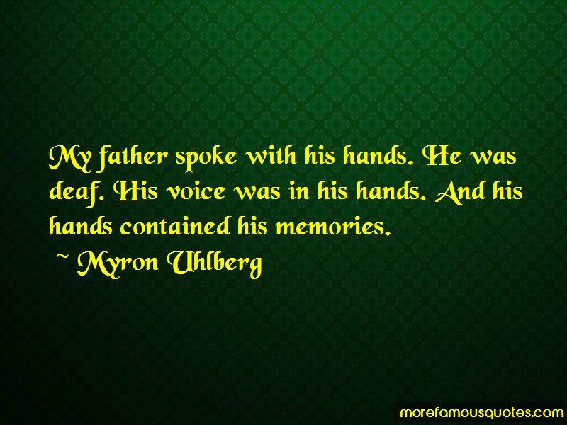 Myron Uhlberg Quotes