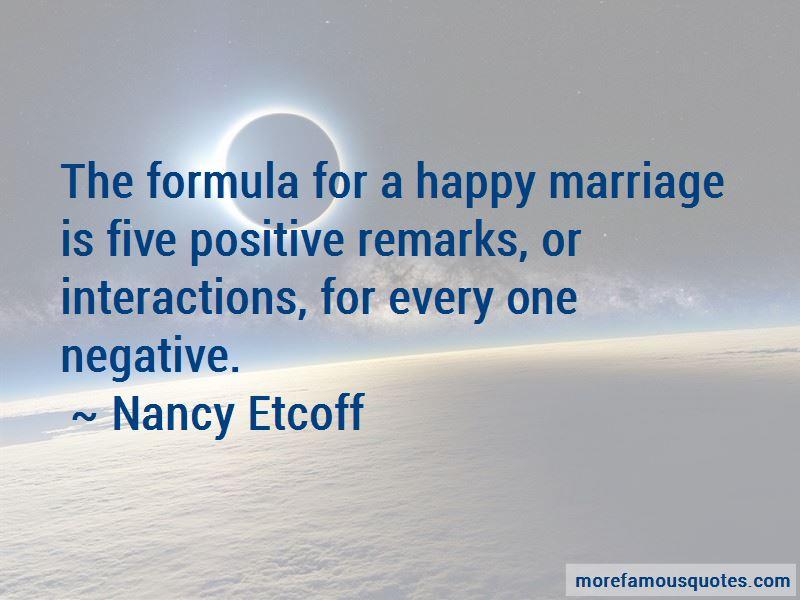 Nancy Etcoff Quotes