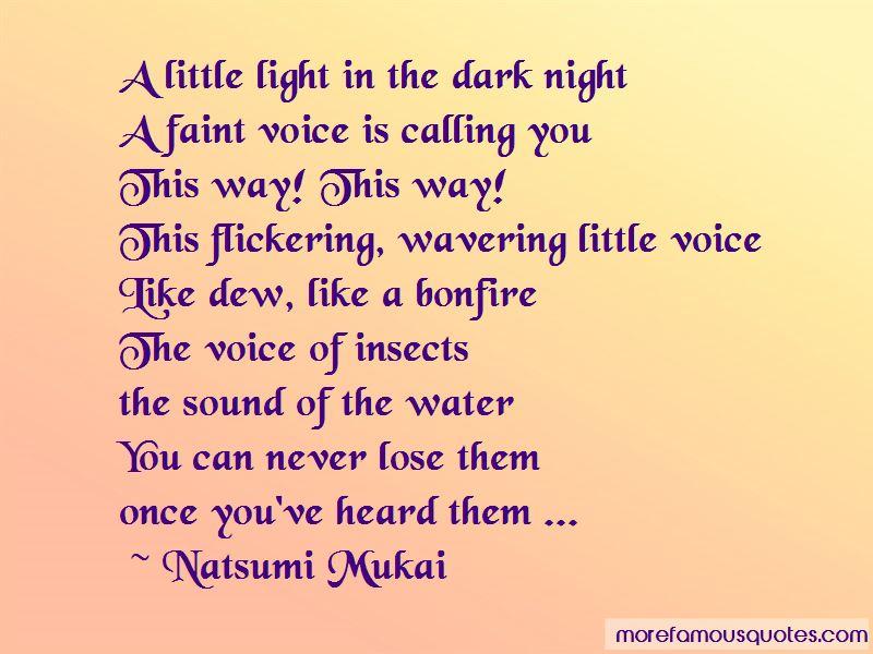 Natsumi Mukai Quotes