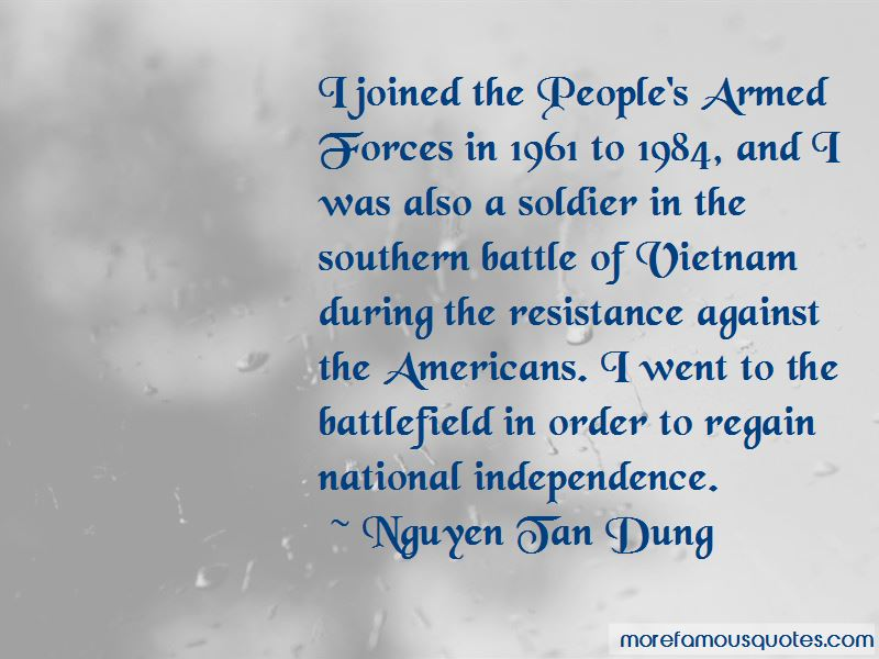 Nguyen Tan Dung Quotes