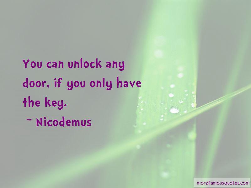Nicodemus Quotes Pictures 2