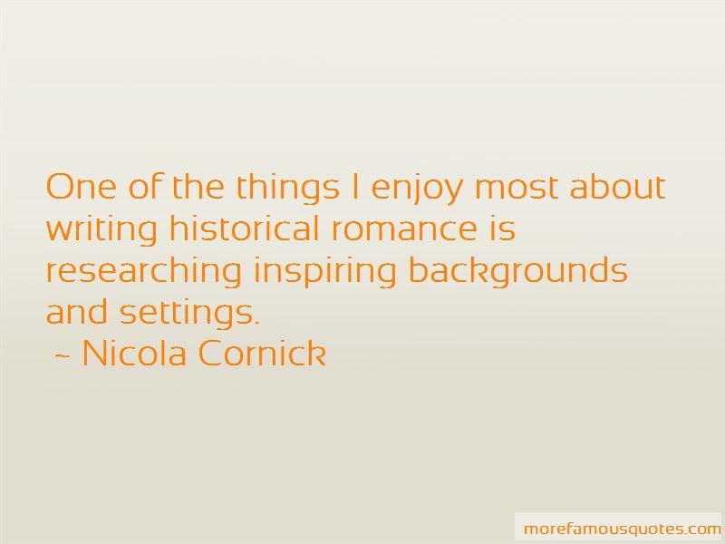 Nicola Cornick Quotes Pictures 4