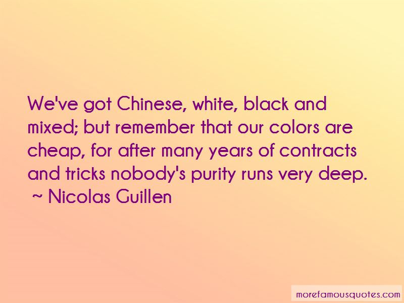Nicolas Guillen Quotes