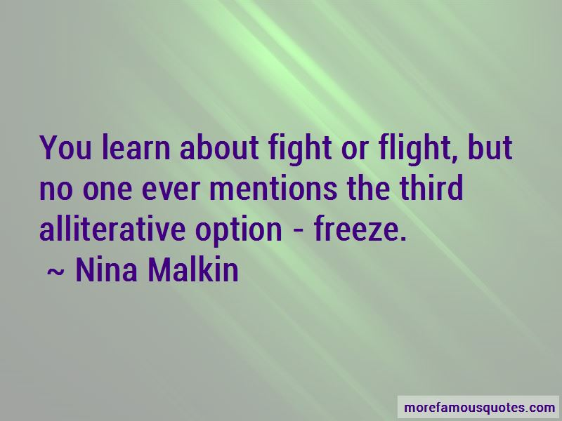Nina Malkin Quotes Pictures 3