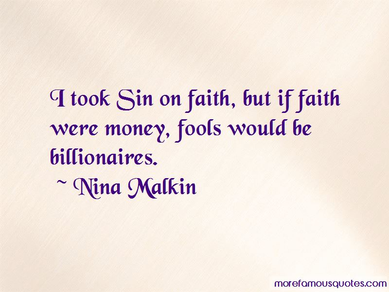 Nina Malkin Quotes Pictures 4