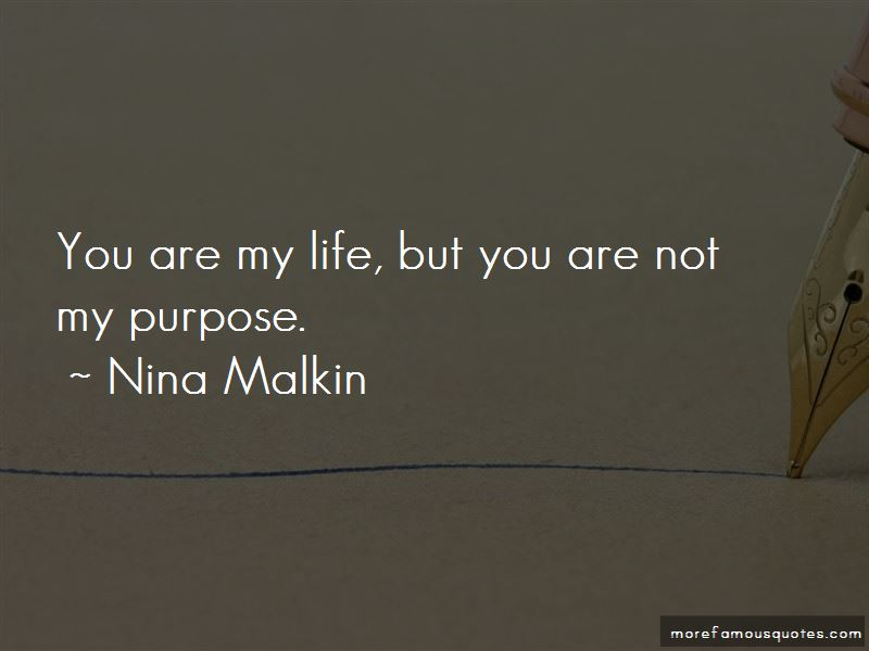 Nina Malkin Quotes