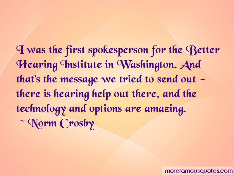 Norm Crosby Quotes Pictures 4