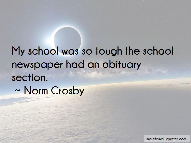 Norm Crosby Quotes