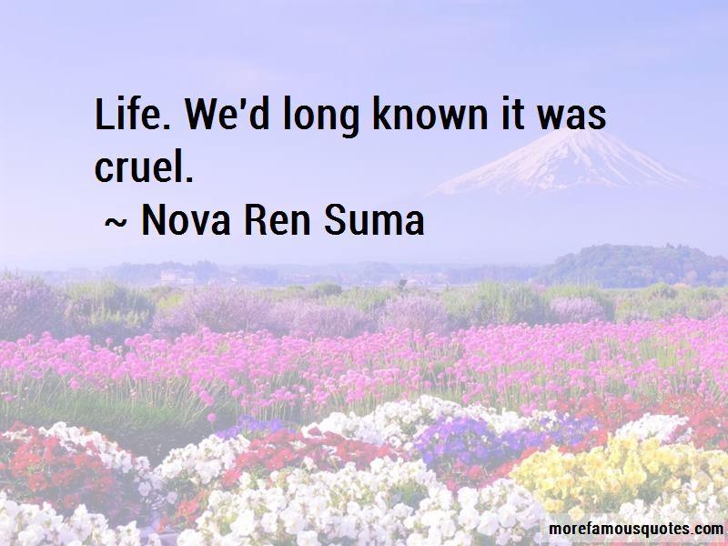 Nova Ren Suma Quotes