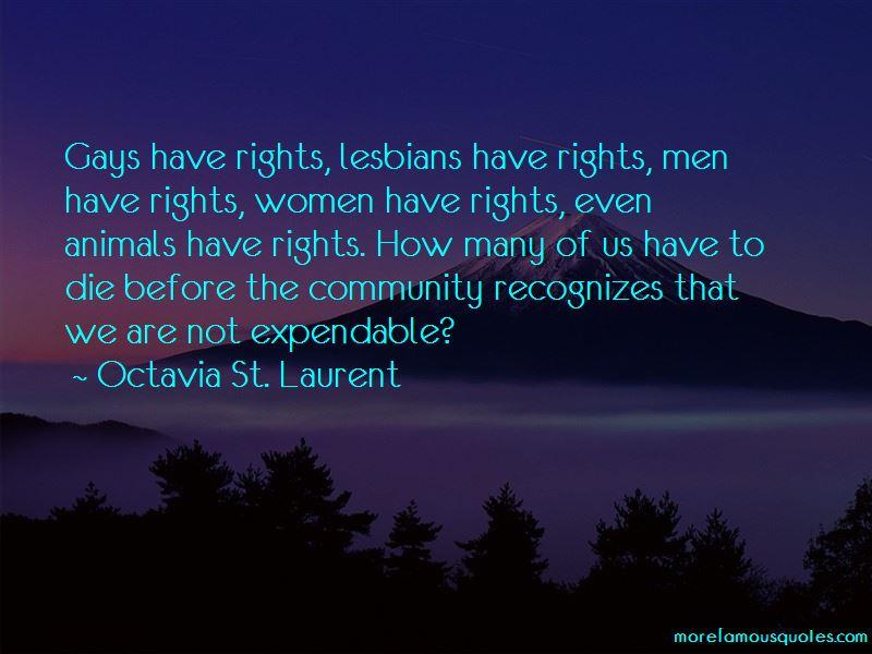 Octavia St. Laurent Quotes Pictures 2