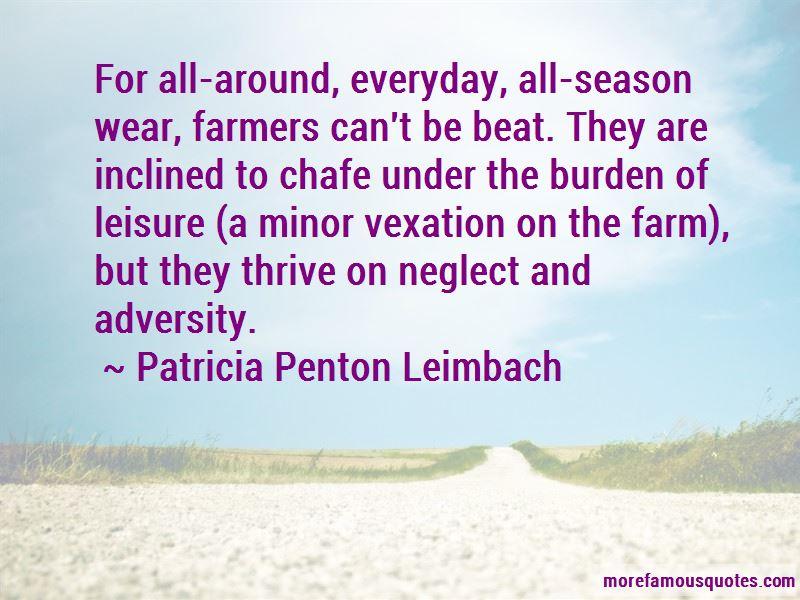 Patricia Penton Leimbach Quotes