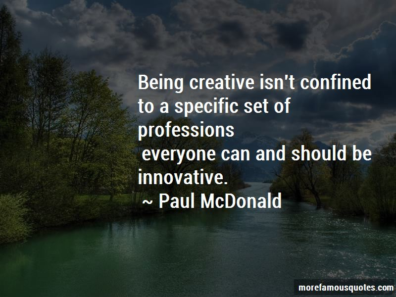 Paul McDonald Quotes Pictures 2