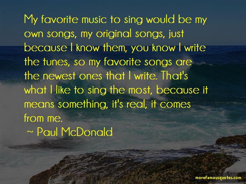 Paul McDonald Quotes Pictures 4