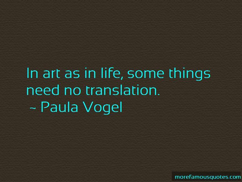Paula Vogel Quotes Pictures 2