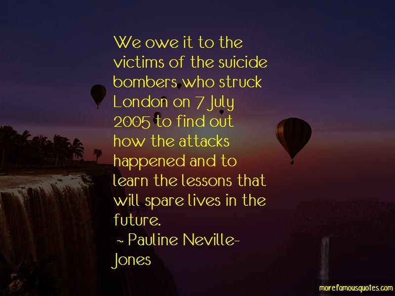 Pauline Neville-Jones Quotes