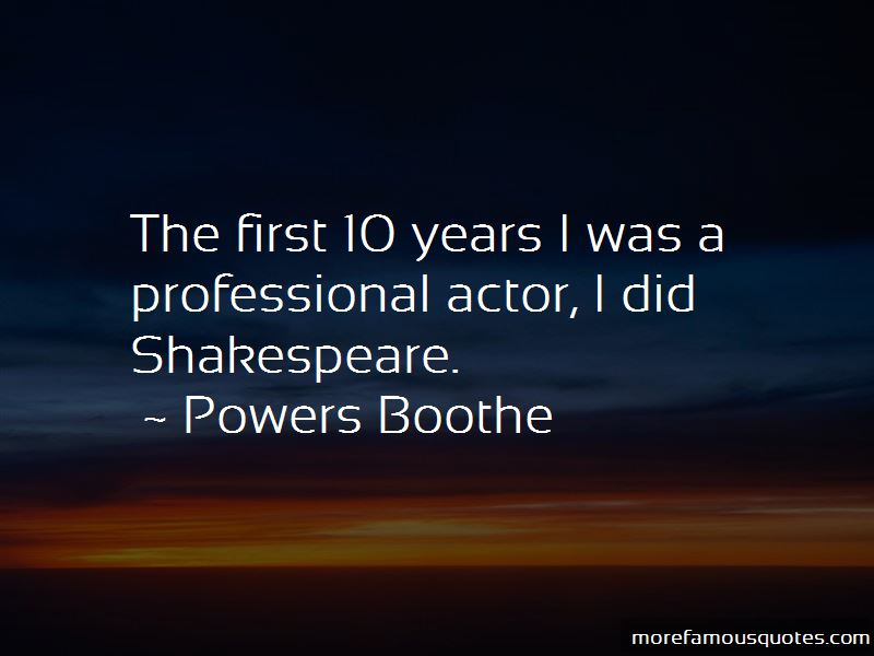 Powers Boothe Quotes Pictures 3