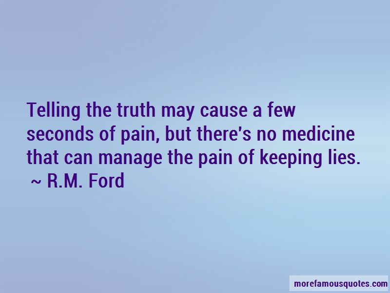 R.M. Ford Quotes
