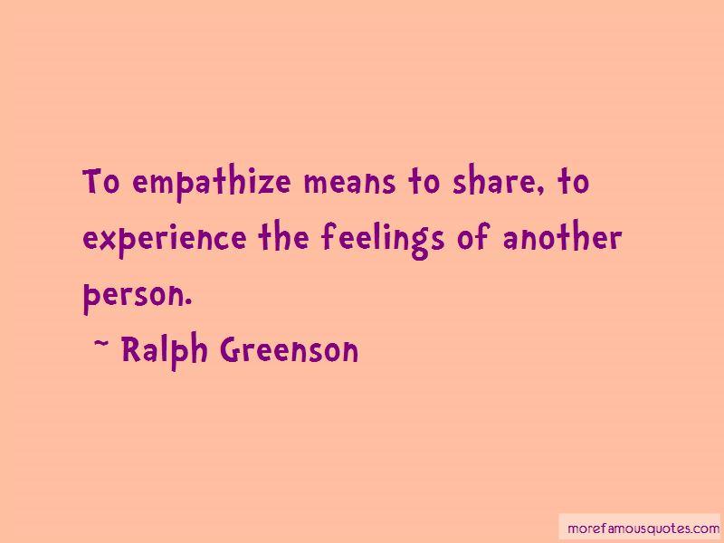 Ralph Greenson Quotes