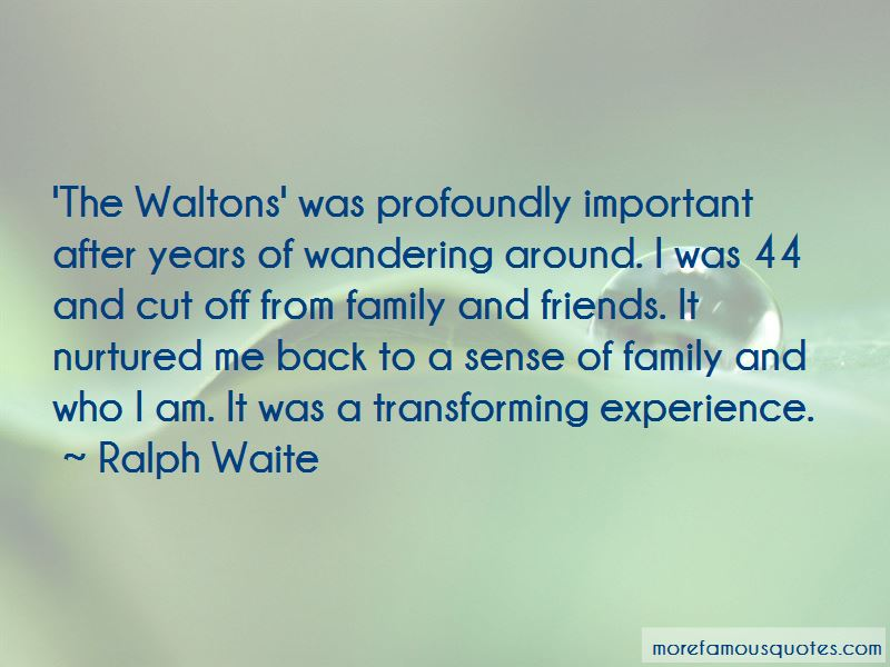 Ralph Waite Quotes Pictures 2