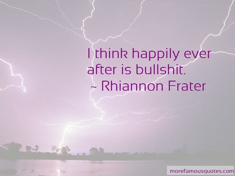 Rhiannon Frater Quotes Pictures 2