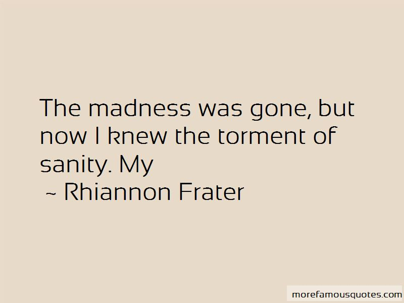 Rhiannon Frater Quotes Pictures 4