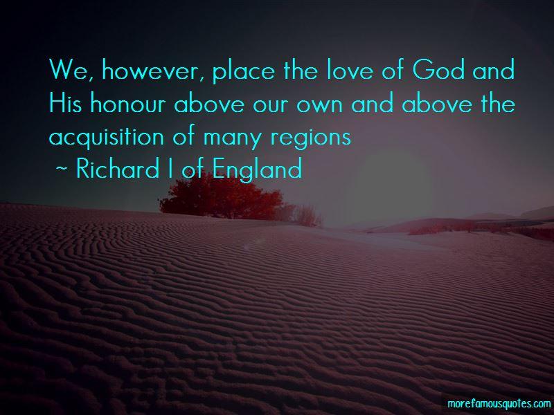 Richard I Of England Quotes