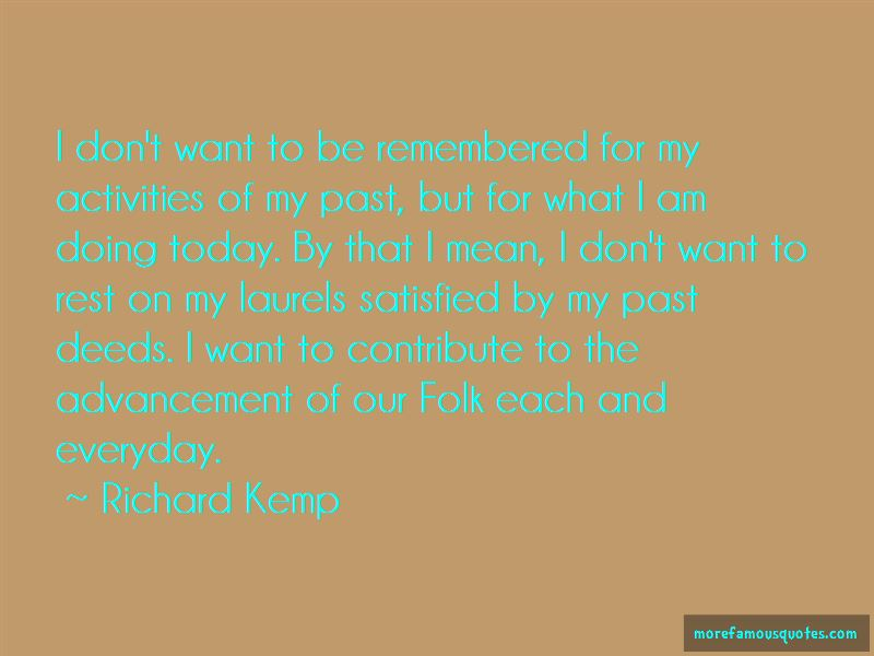 Richard Kemp Quotes Pictures 2