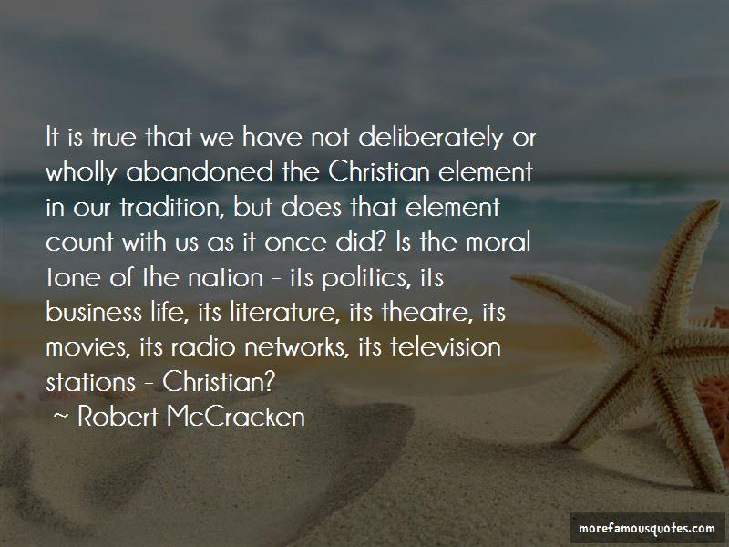 Robert McCracken Quotes Pictures 3