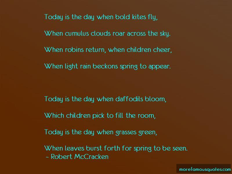 Robert McCracken Quotes Pictures 4
