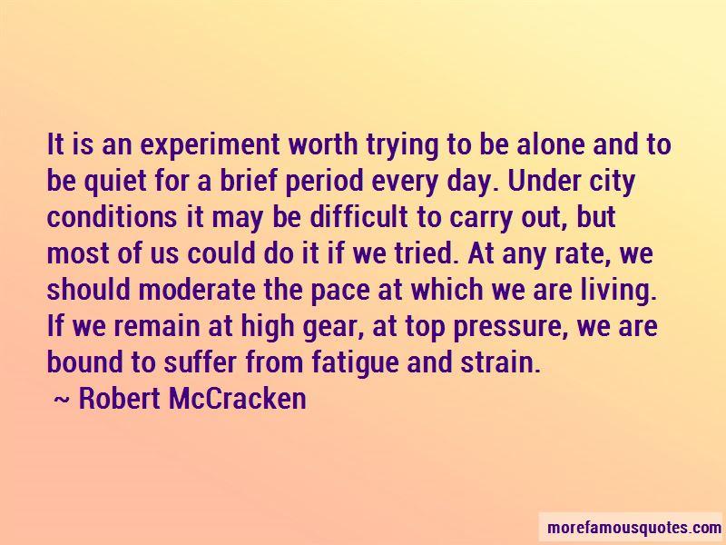 Robert McCracken Quotes