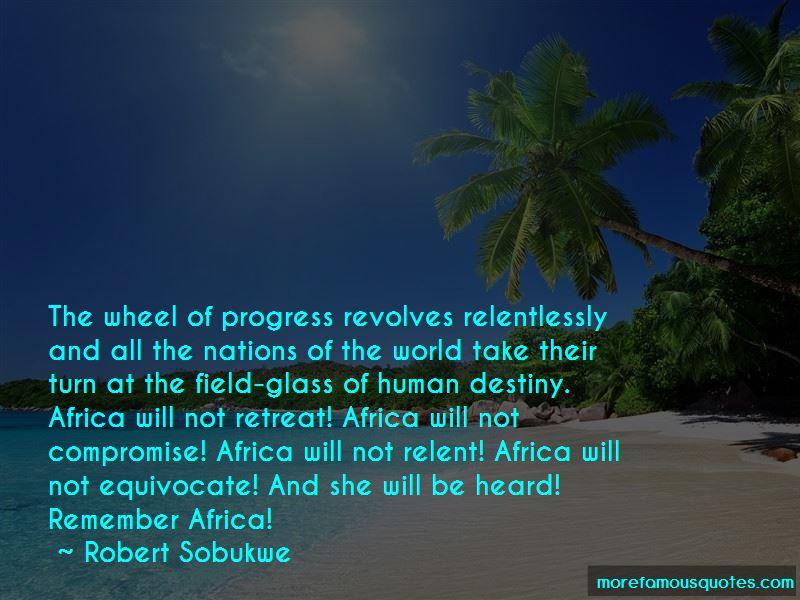 Robert Sobukwe Quotes