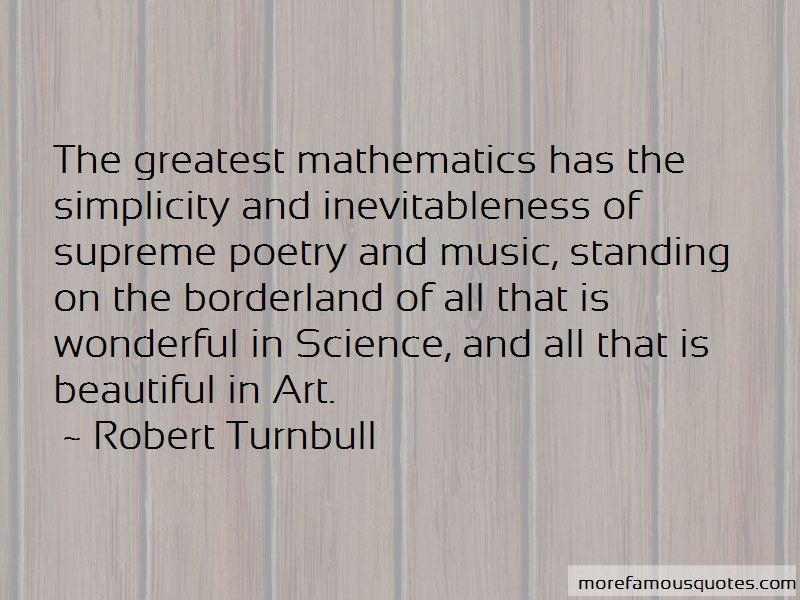 Robert Turnbull Quotes