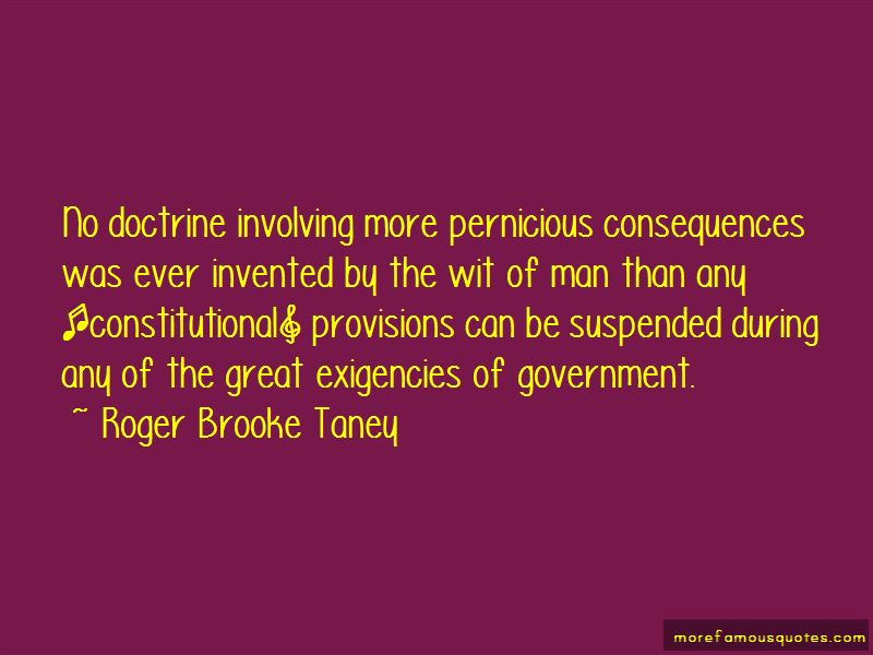 Roger Brooke Taney Quotes Pictures 4