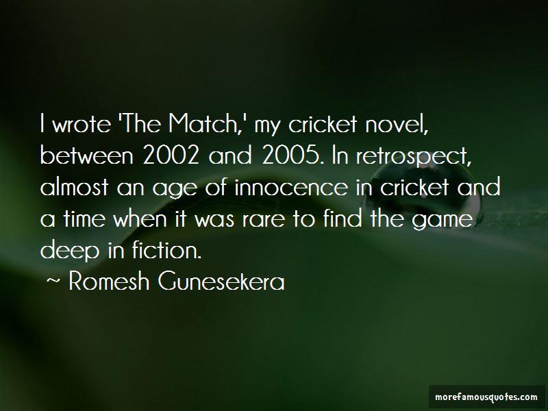 Romesh Gunesekera Quotes Pictures 4