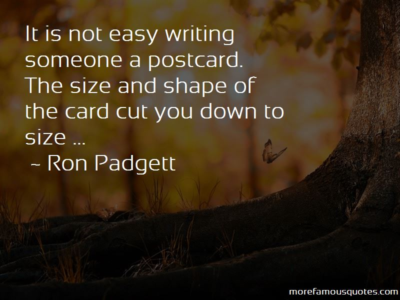 Ron Padgett Quotes Pictures 2