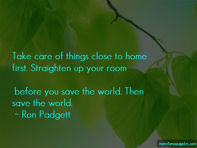 Ron Padgett Quotes