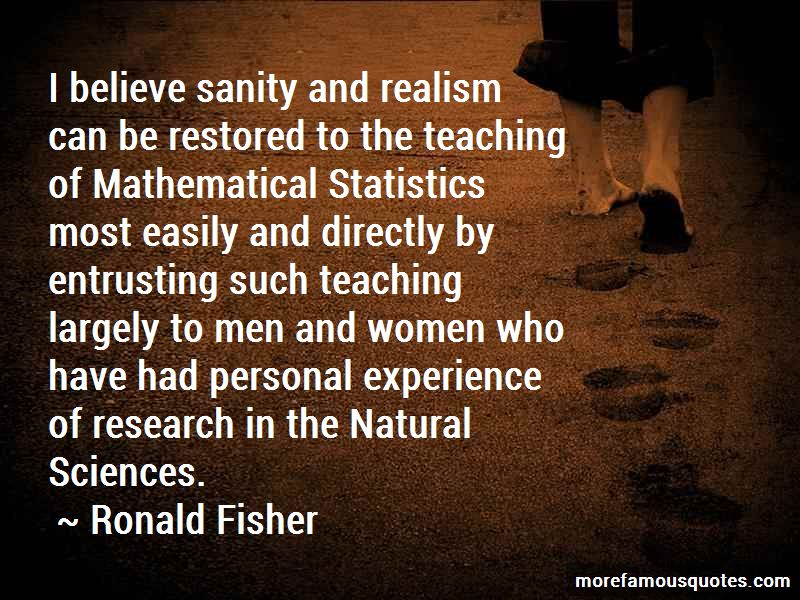 Ronald Fisher Quotes Pictures 2
