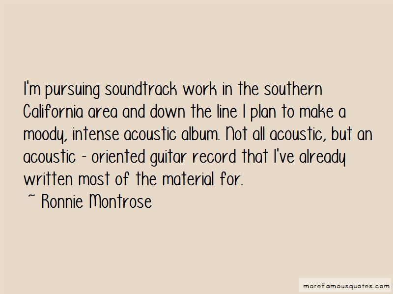 Ronnie Montrose Quotes Pictures 4