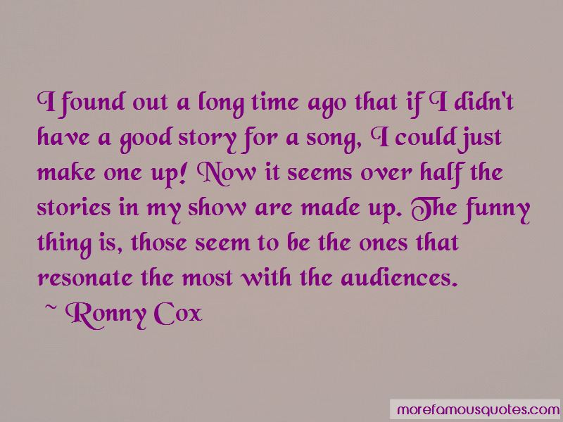 Ronny Cox Quotes Pictures 2