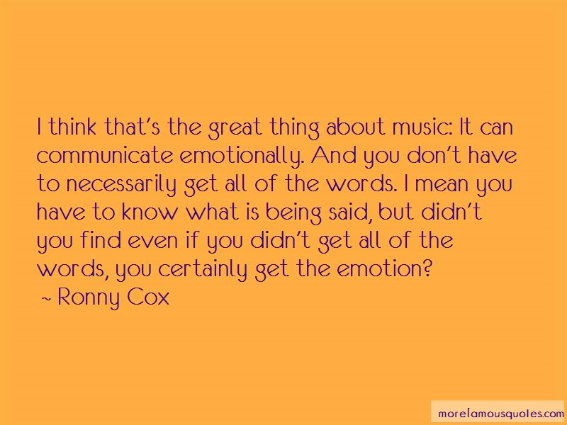 Ronny Cox Quotes Pictures 4