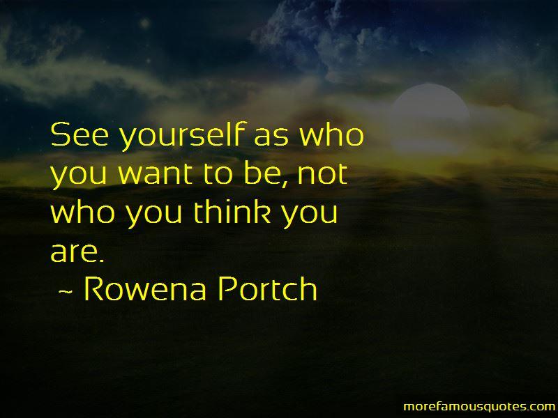 Rowena Portch Quotes